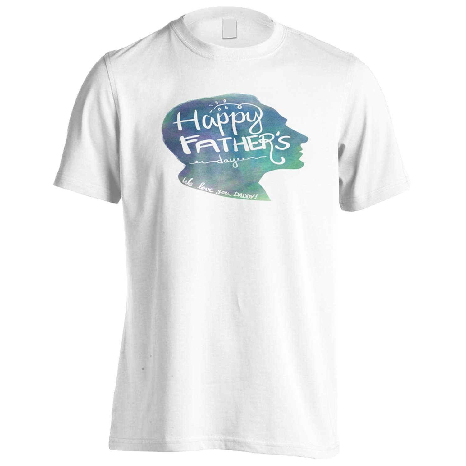 Happy Fathers Day We Love You Men's T-Shirt Tee o26m