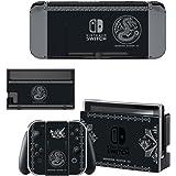Nintendo Switch 任天堂スイッチ モンスターハンターダブルクロス XX スキンシール 保護カバー 本体用 + コントローラー用 オリジナルステッカー セット