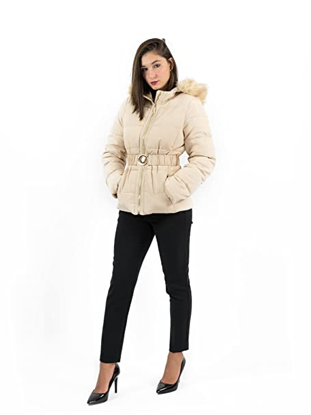 Gaudi Damen Mantel Beige Beige 34 Amazonde Bekleidung