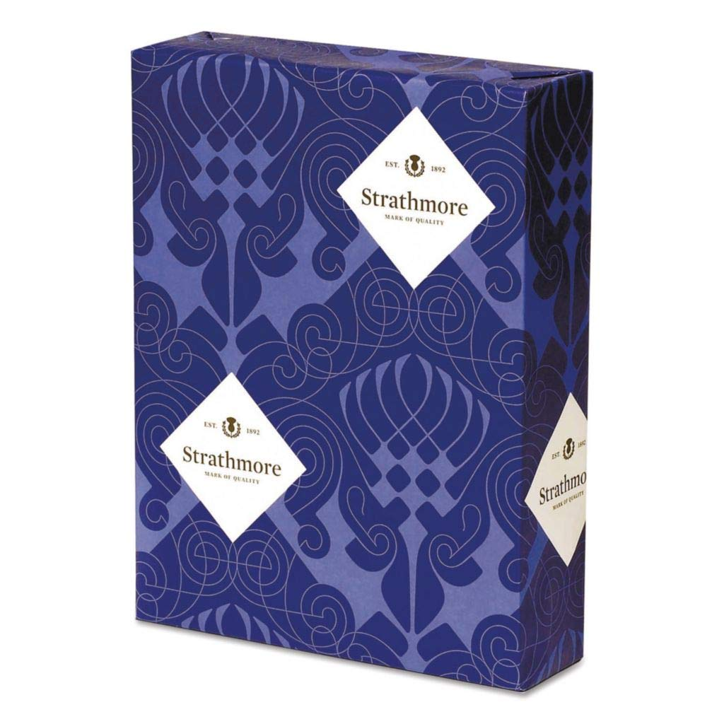 STT300220 - Description : Business Paper, Brightness Rating of 90 (US) - Strathmore Writing 25% Cotton Business Stationery - Pack of 500