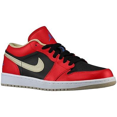 Nike Air Jordan 1 Retro Low, Men's Basketball Shoe, 7M GYM RED/GAME