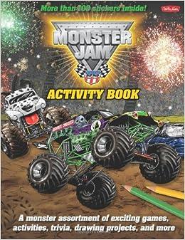 Monster Jam™ Activity Book (Licensed Activity Book): Walter Foster ...