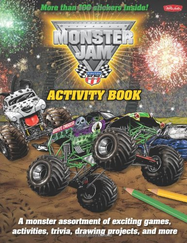 Monster Jam™ Activity Book (Licensed Activity Book): Walter Foster ...