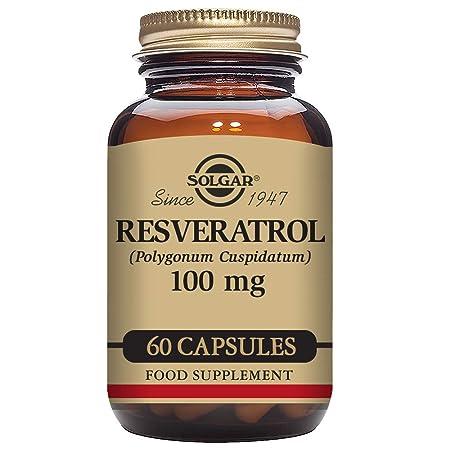 Solgar Resveratrol Cápsulas vegetales - Envase de 60: Amazon.es: Salud y cuidado personal