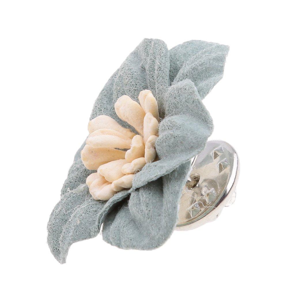 2 en 1 Baosity Broche /Épingle de Mariage Pince /à Cheveux Forme de Fleur//Rose Fashion