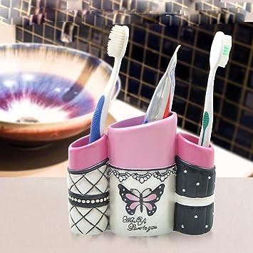 LINA @ baño idee de europeo romántico Porta cepillo de ...