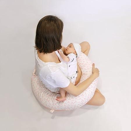 Cojín de lactancia, teedee Rosy: Amazon.es: Bebé