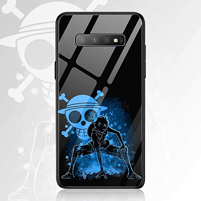 Amazon.com: FUTURECASE Anime One Piece Luffy Zoro Law Tempered Glass Phone Cases for Samsung Galaxy S20 S20 Plus Ultra S8 S9 S10 Plus S10e Note 8 9 10 10 Plus Luxury Cool Covers (1, Samsung S9 Plus): Computers & Accessories