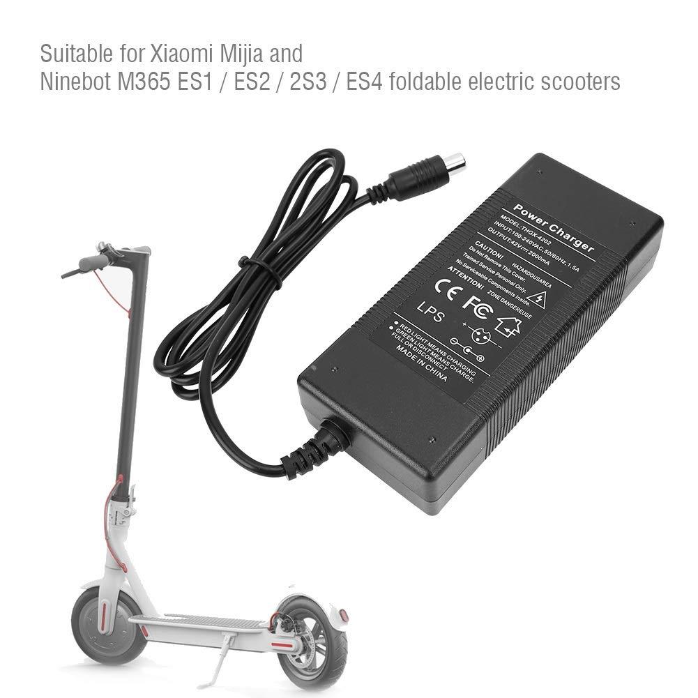 Amazon.com: Samfox 42V 2A Recambio Cargador de Patinete ...
