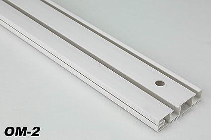 Binari Per Tende Scorrevoli Da Esterno.10 Metri 2 Laufige Pvc Binari Tende Tenda Ganci Per Tendine Om 2