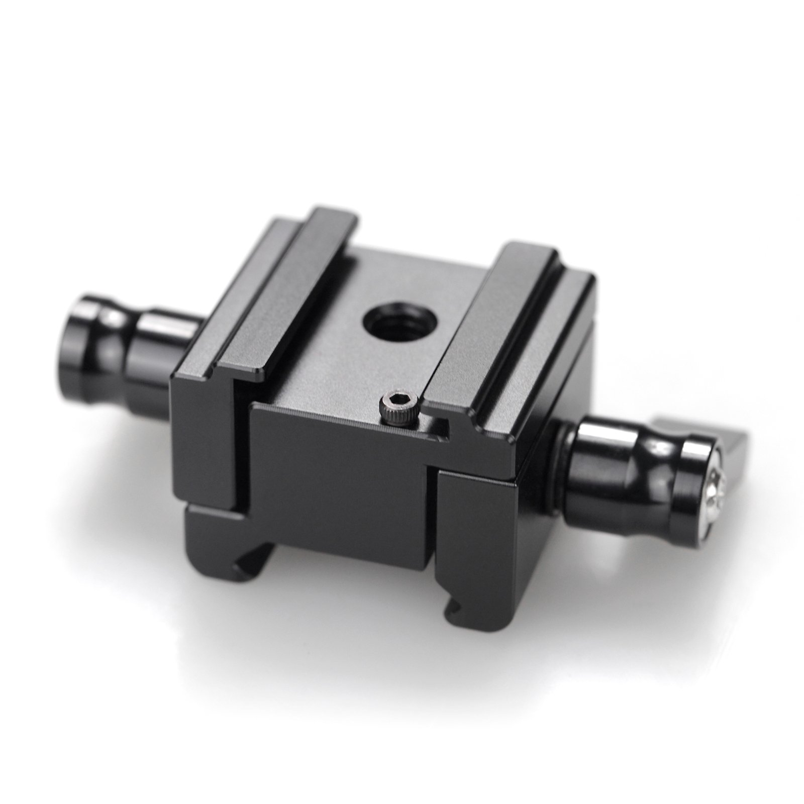 SMALLRIG Hot Shoe Mount with NATO Clamp Width Adjustable for Canon C100/C100 MarkII/C300/C500-1652