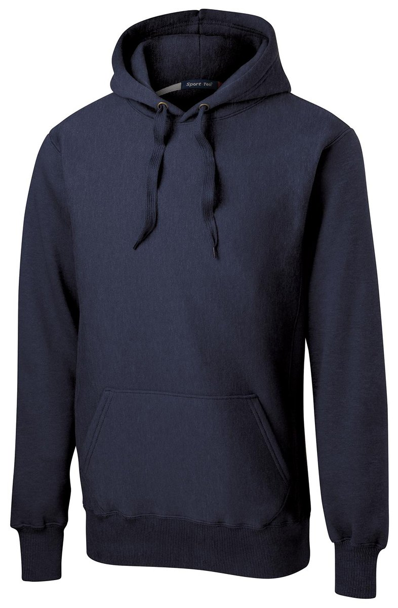 Sport-Tek Men's Super Heavyweight Pullover Hooded Sweatshirt XXL True Navy