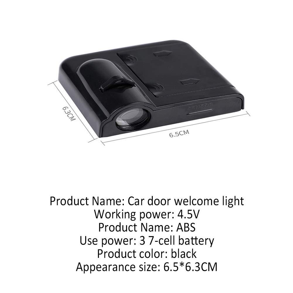 4pcs Entry Lighting Car Logo Projector HONDA Series Door Welcome Light Universal Wireless Magnetic Sensor Shadow Marker Entry Light Car Doors Ambient Light Color : 20