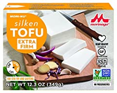 Mori-Nu's revolutionary package locks out light, oxygen and microorganisms which lead to spoilage. Guaranteed quality. Always tastes freshly made. Low-fat, cholesterol-free vegetable protein containing important soy isoflavones - genistein an...