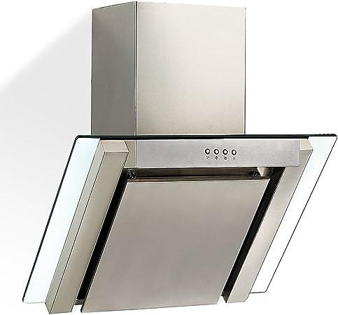 Jago DAH04 - Campana extractora diseño moderno y elegante - Aprox. 60 x 55 x 60 cm: Amazon.es: Hogar