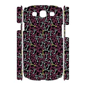 Colorful Design Custom 3D Cover Case for Samsung Galaxy S3 I9300,diy phone case ygtg626856