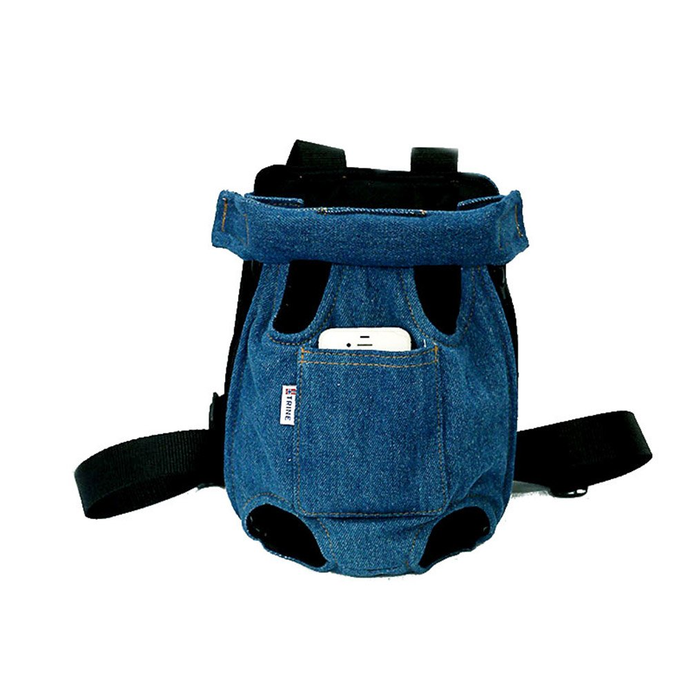 Shoulder Pad with Wide Shoulder Straps Adjustable and Leg Out with Pet Boot Carriers
