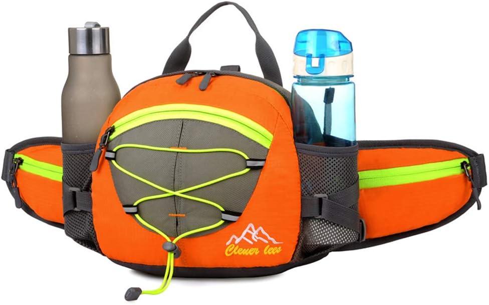CXLIN Bolso Multifuncional de la Caldera de la Capacidad Grande de la Mochila de los Deportes al Aire Libre Conveniente para Caminar, completar un Ciclo, Escalada en Roca,Orange
