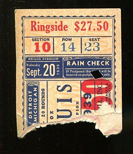 1939-Boxing-Ticket-Joe-Louis-v-Bob-Pastor-Briggs-Stadium-92039-23305