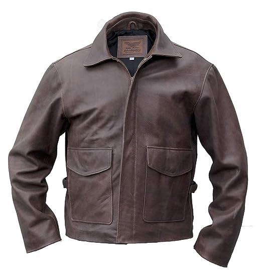Noble House Indiana Jones Leather Jacket, steerhide at ...