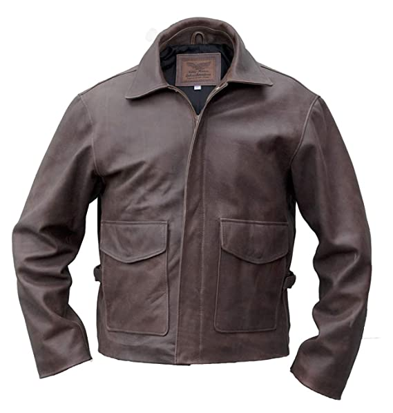 Noble House Indiana Jones Leather Jacket, steerhide at ...