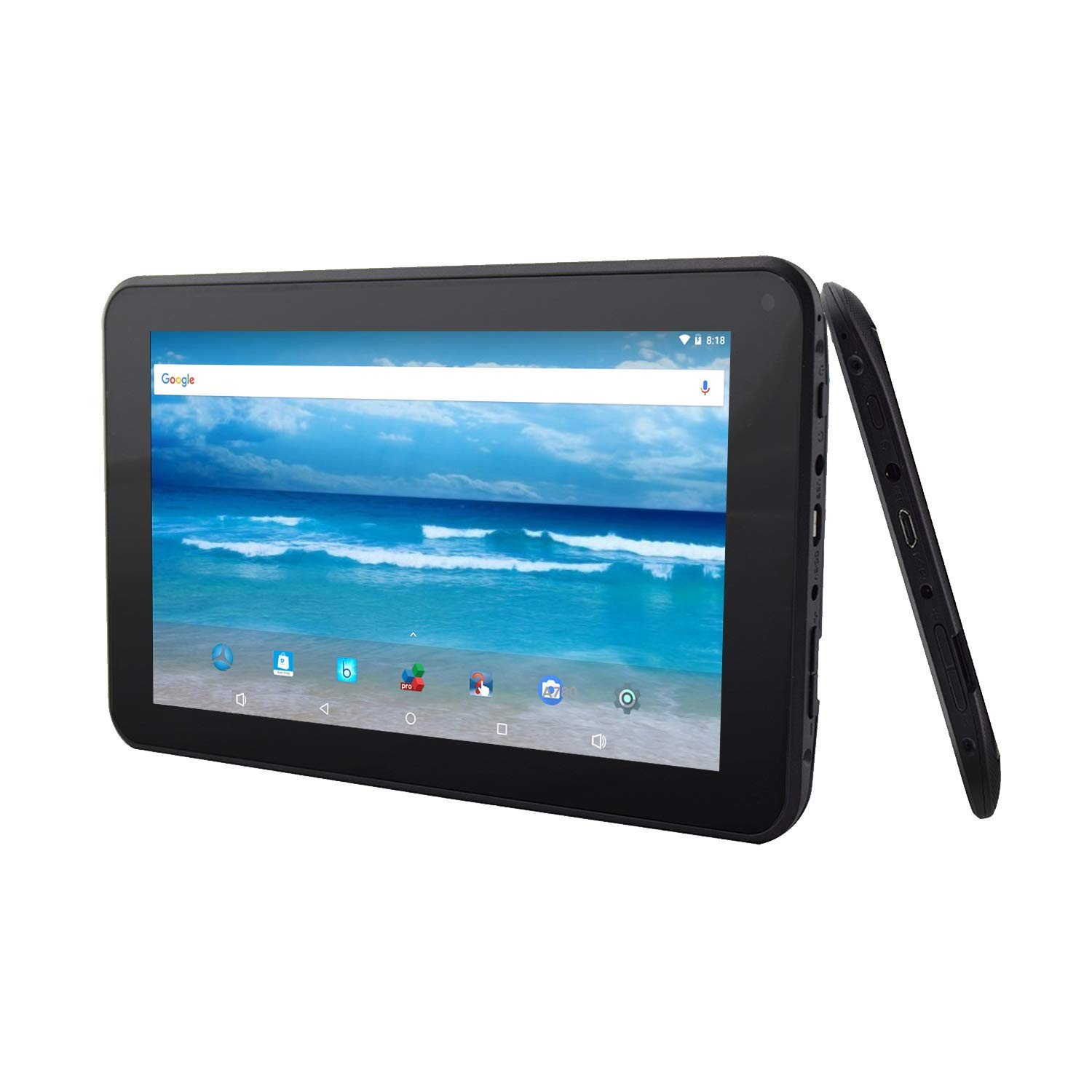 7 Inch Android 8 1 Oreo Google Certified HD Tablet by Azpen 8GB Bluetooth  Google Play Store and Skype Facebook and Instagram (2019 Latest Version)