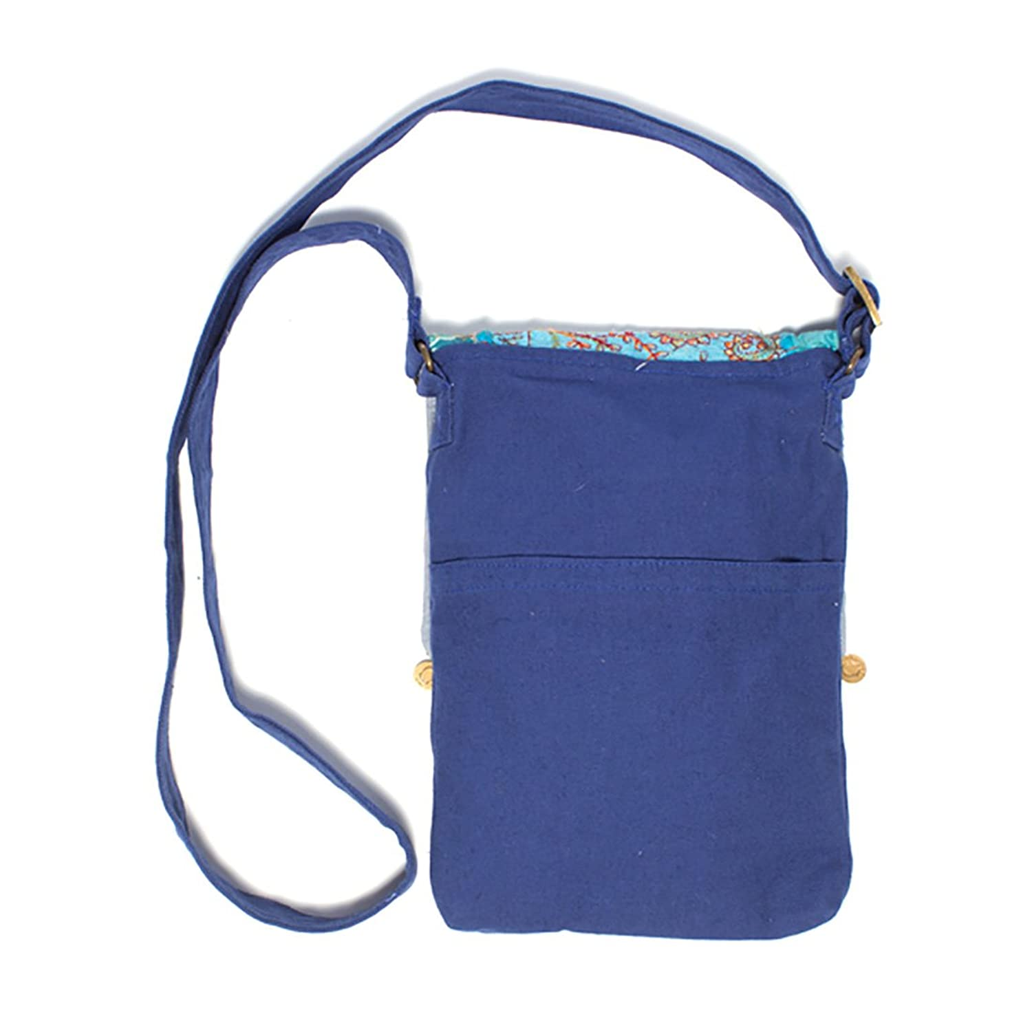 """Color Splash Festival"" Fair Trade Cross-body Bag"