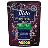 Tilda Steamed Brown Basmati Rice Wholegrain Pilau (250g)