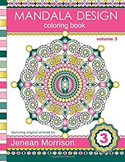 Mandala Design Coloring Book An Adult For Stress Relief Relaxation