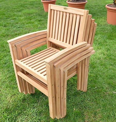 XXXL Real teca jardín Mobiliario de jardín muebles de jardín mesa ...