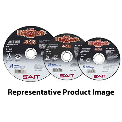 Amazon.com: SAIT 23323 4 x 045 x 5/8 Sait z-tech metal/acero ...