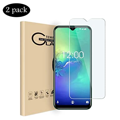 VICELEC Screen Protector for Blackview A60 Pro 4G, [2 Pack] Full Cover  Screen Tempered Glass HD Clear Protective Film, 9H Hardness for Blackview  A60