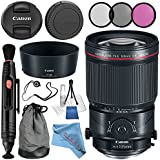 Canon TS-E 135mm f/4L Macro Tilt-Shift Lens 2275C002 + 77mm 3 Piece Filter Kit + Lens Cap Keeper + Lens Pen Cleaner + Deluxe Starter Kit + MicroFiber Cloth Bundle
