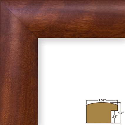 Craig Frames 16x22-Inch Picture Frame, Smooth Wrap Finish, 1.52-Inch ...