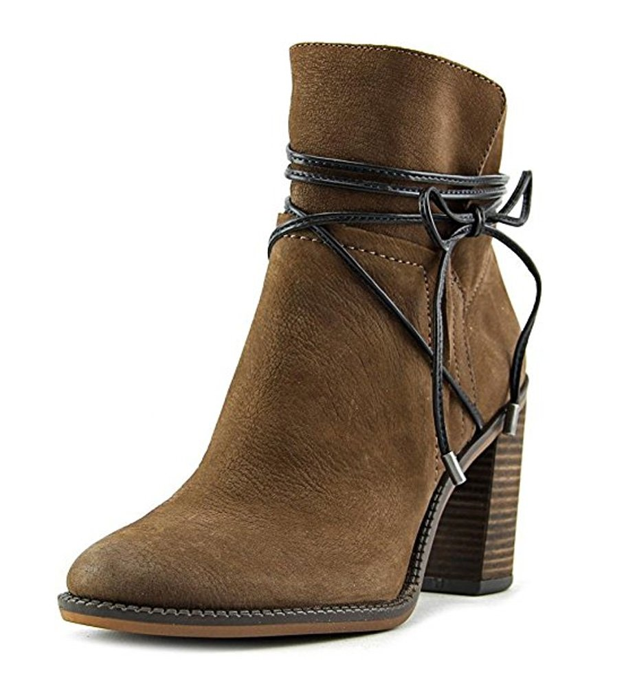 Franco Sarto Women's Edaline Ankle Bootie B01JZTUBR8 7.5 B(M) US|Tobacco