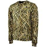 yukon gear jacket - Mossy Oak Long Sleeve Henley Camo Shirt Men