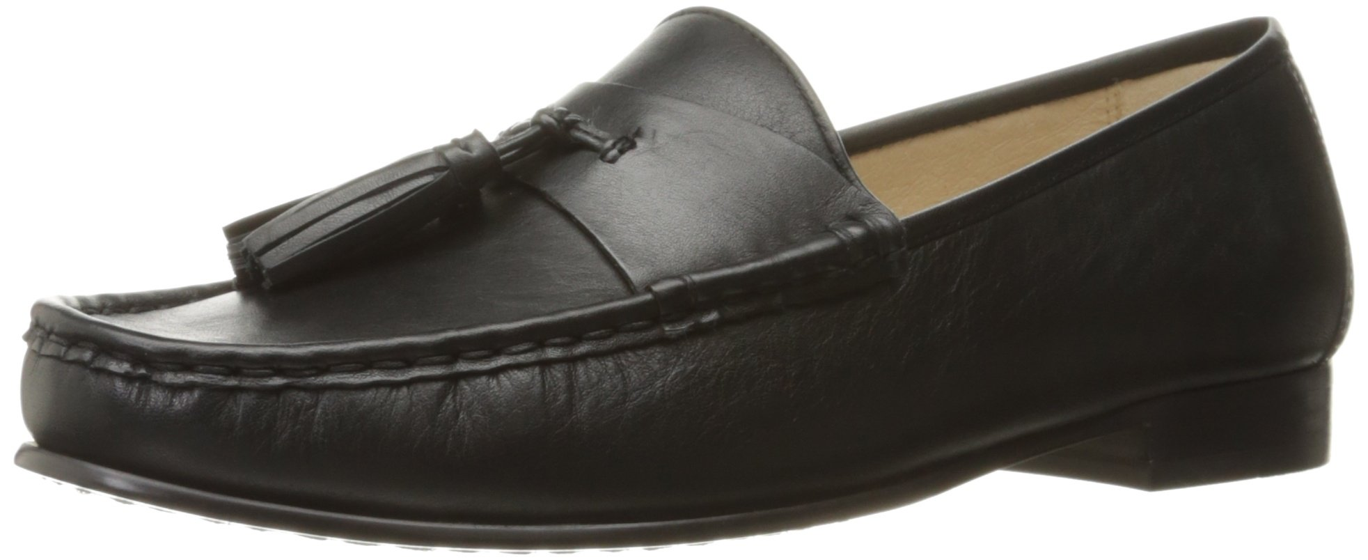 Sam Edelman Women's Therese Slip-On Loafer, Black, 7 M US by Sam Edelman (Image #1)