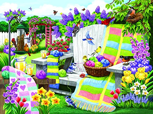 The Many Colors of Spring 1000 Piece Jigsaw Puzzle by SunsOut