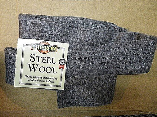 2 meter pack of Liberon steel wool 0000 grade Liberon Steel Wool