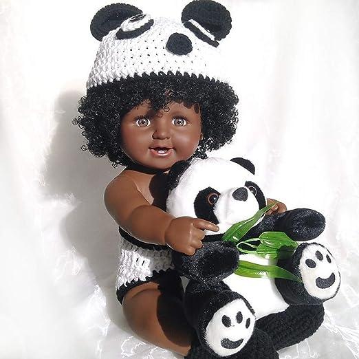 Rocking Horse Reborn Boy Baby Doll Muñeca Realista Africana ...