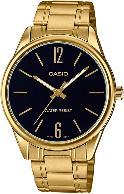 Relógio analógico, da Casio