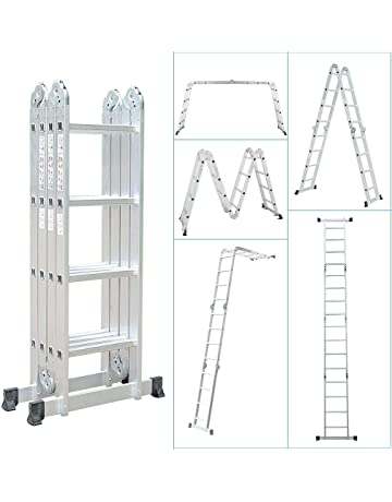marches: 3/x 12 Hailo 9312 3/pi/èces 507/profilot /échelle combin/ée en aluminium