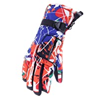 Barrageon Ski Gloves, Windproof Waterproof Thermal Mitts Mittens Gloves for Unisex, Warm Outdoor Winter Snow Gloves for Skiing Snowboarding Snowmobile Snowballs Shredding Shoveling