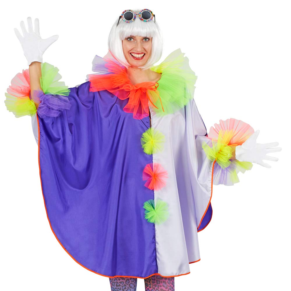 Fasching Karneval Maske Zirkus Clown ES Fair Trade Produkt