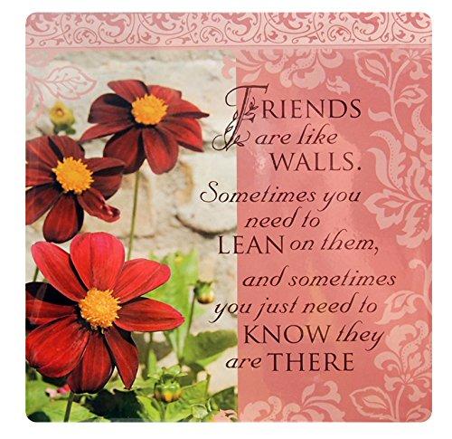Kitchen Towels - Friends are like walls