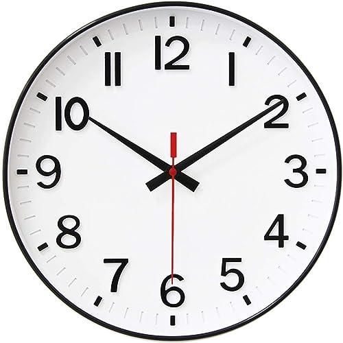 HZDHCLH Wall Clock 12 inch Silent Non Ticking Modern Wall Clocks Battery Operated Clocks