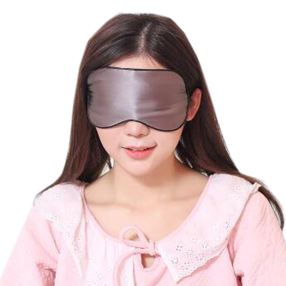 3b460682c6b Silk Sleep Mask Breathable Eye Care Comfortable Sleep Mask Eye-shade Aid- sleeping