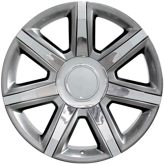 Amazon Com Oe Wheels 22 Inch Fits Chevy Silverado Tahoe Gmc Sierra