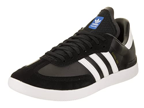 cheap for discount 601f7 de083 adidas Mens Samba ADV CblackFtwwhtBlubir Skate Shoe 8 Men US
