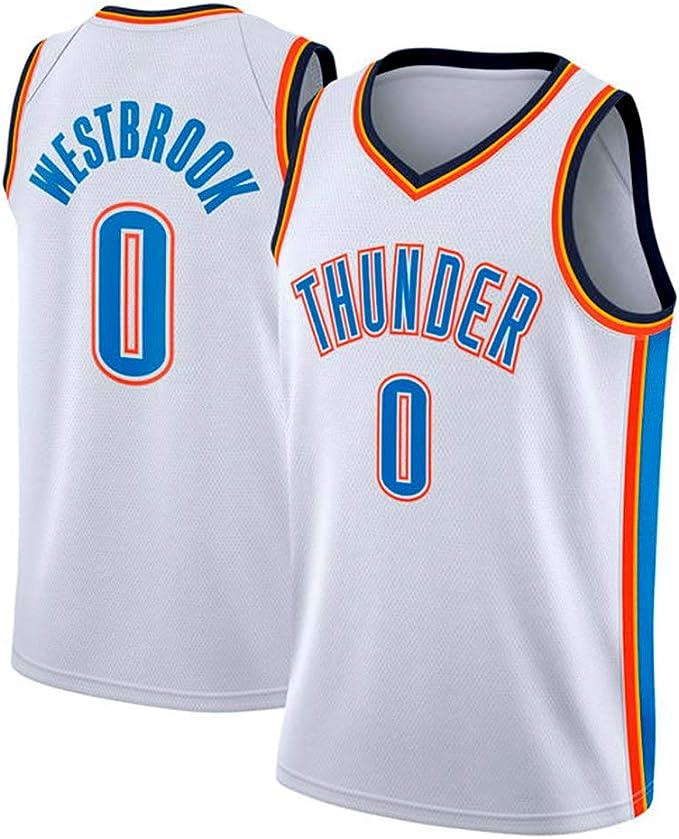 YIXUAN Hombres Jersey Camiseta Russell Westbrook Oklahoma City ...